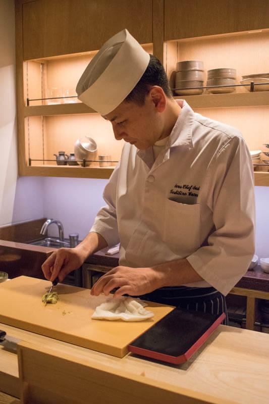 Andaz The Sushi Toshihiro Watanabe Sushi