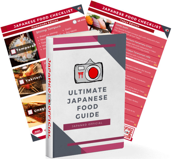 Japan Food Checklist Guide