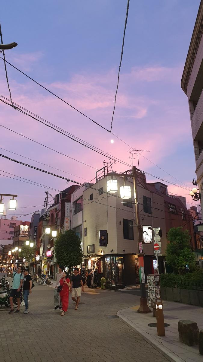 Asakusa sunset