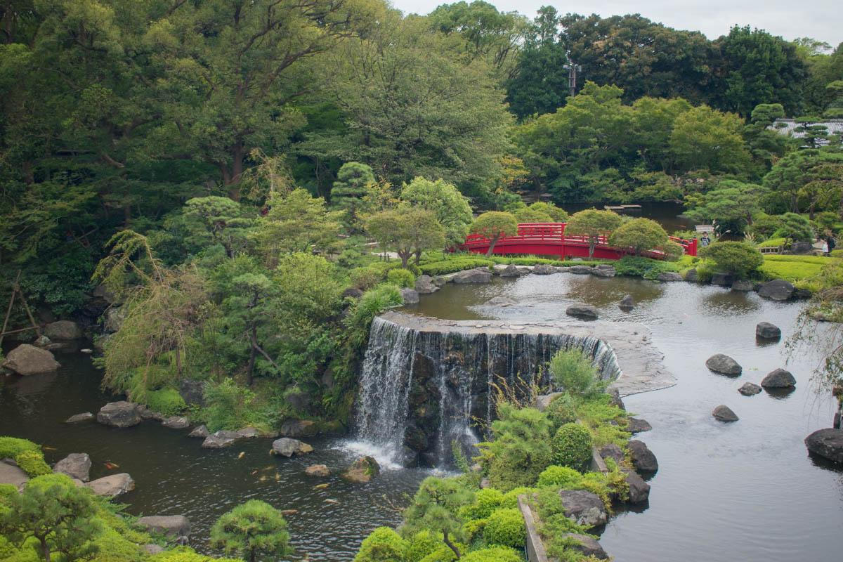 Hotel New Otani Tokyo 400-year-old Japanese garden