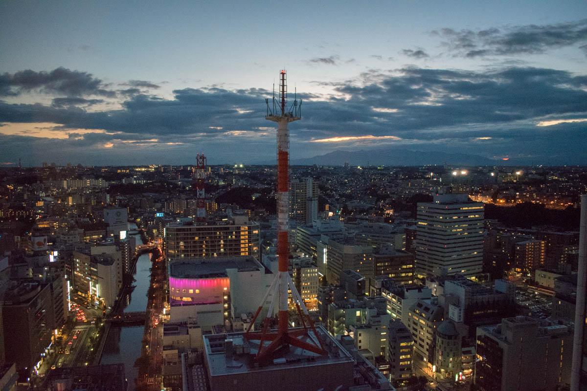 Yokohama Bay Sheraton Hotel & Towers Room View