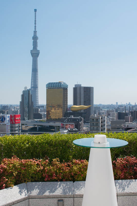 The Gate Hotel Kaminarimon rooftop bar