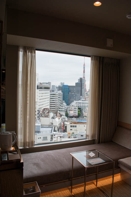 Candeo Hotels Tokyo Roppongi Room View