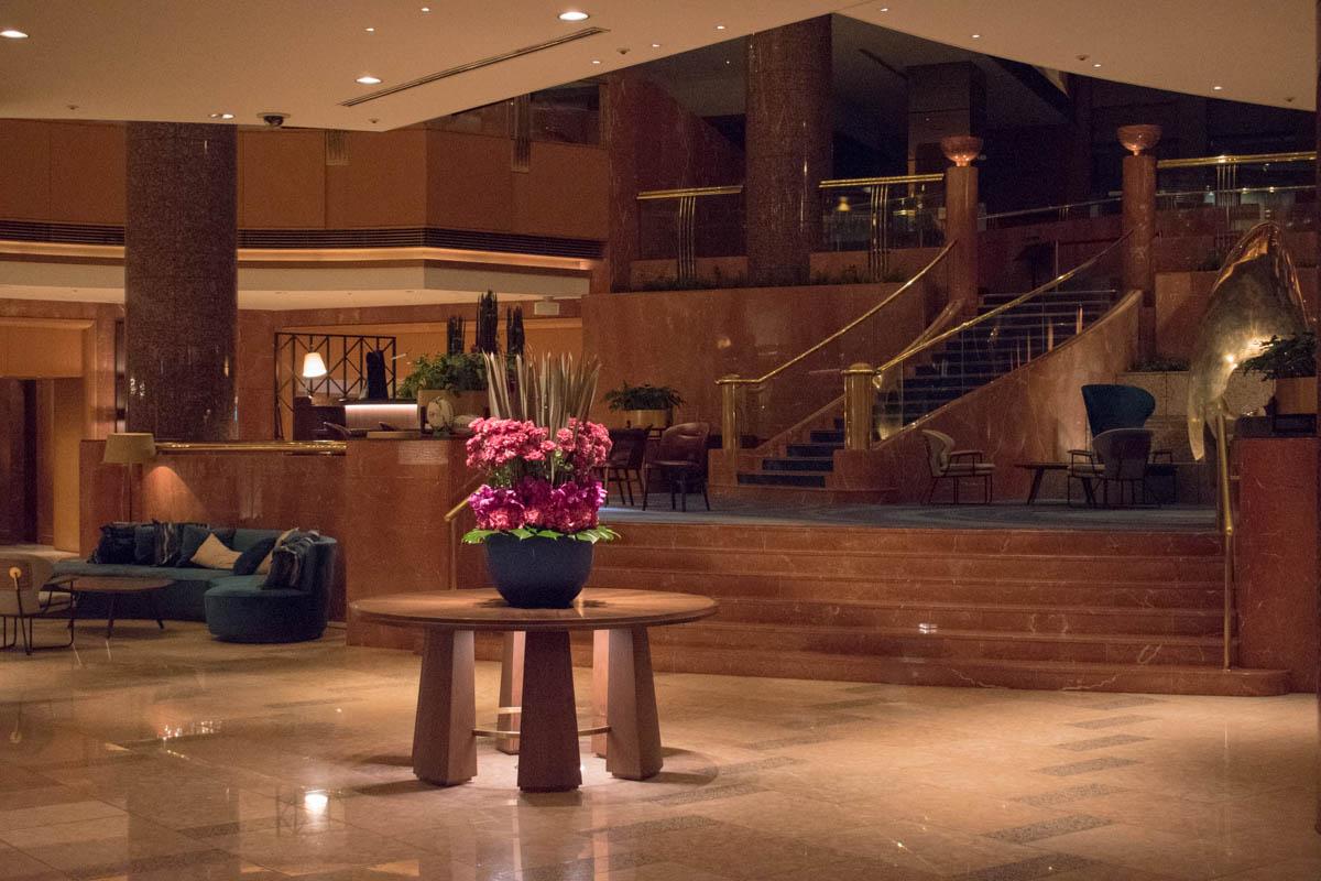 Yokohama Bay Sheraton Hotel & Towers Lobby